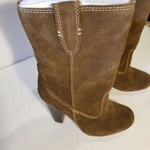Mia Western boho boots Rust color 7 NWOT